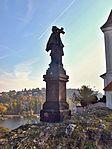 Zlíchov, sv. Filip a Jakub socha Jan.jpg
