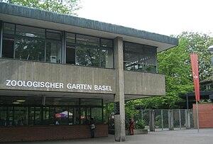 Basel Zoo - Zoo Basel's main entrance