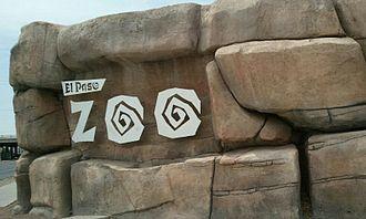 El Paso Zoo - Image: Zoo exit