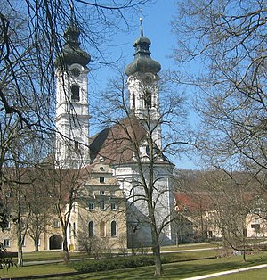 Johann Michael Fischer - Exterior of Zwiefalten Abbey