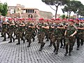 """Cacciatori di Calabria"" on parade in Rome, 2 June 2006.jpg"