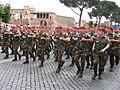 """Cacciatori di Calabria"" on parade in Rome, 2 June 2006.jpg"