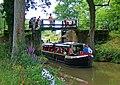 """Zachariah Keppel"" exiting Brewhurst Lock, Wey and Arun Canal - geograph.org.uk - 1436679.jpg"