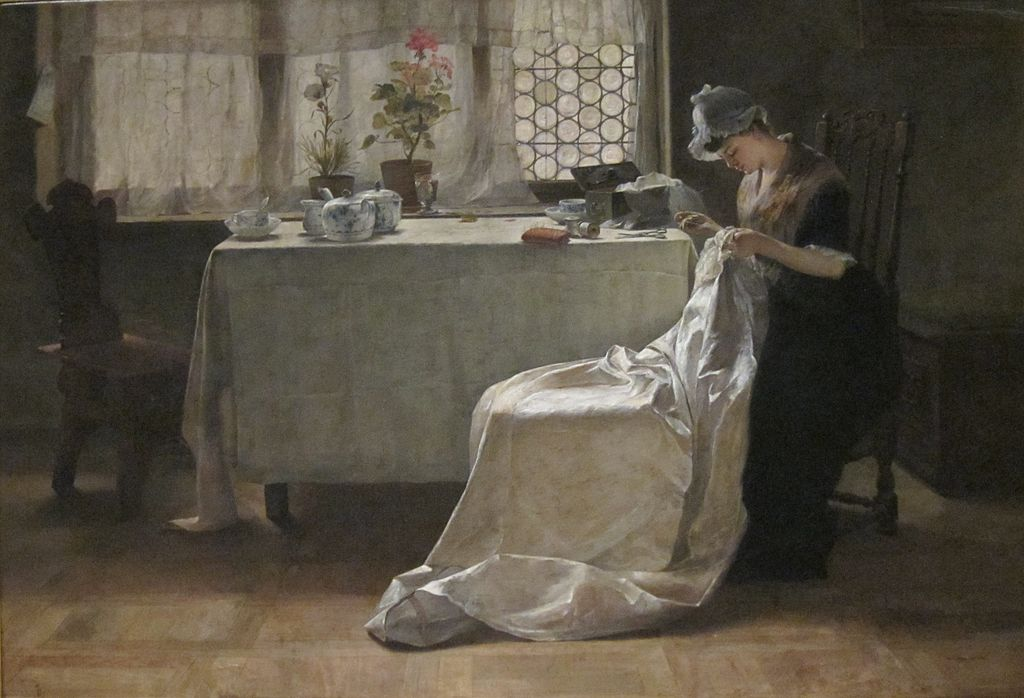 'Blissful Hours' by Samuel Richards, Dayton Art Institute