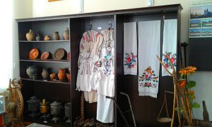 Bar, Vinnytsia Oblast - Ukrainian Culture Exhibition, History Museum