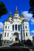 File:(3) NEW ORTHODOX CATHEDRAL IN CITY OF KHARKIV STATE OF UKRAINE VIDEO BY VIKTOR O LEDENYOV 20160606.ogv