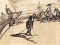 (Albi) Au cirque ; chevaux en liberté 1899 - Toulouse-Lautrec.jpg