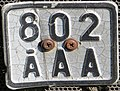 Åland old motor cycle plate.jpg