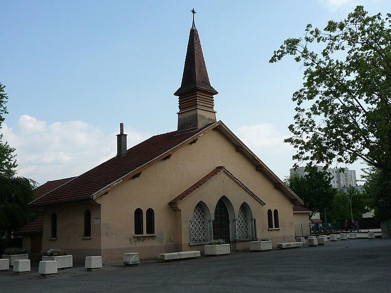 La chapelle Saint-Maurice à Saint-Martin-d'Hères.
