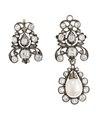 Örhängen med briljanter och pärlor, 1700-tal - Hallwylska museet - 110486.tif
