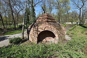 Temple of Divine Providence - Original unfinished Temple of Divine Providence (1792) in Warsaw's Botanical Garden
