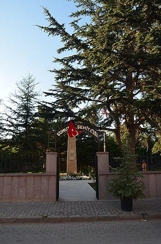 Şuhut - Şuhut Memorial Cemetery