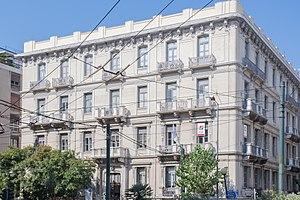 Patission Street - Isaias mansion