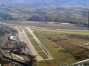Sochi International Airport - Aerial view of Sochi International Airport
