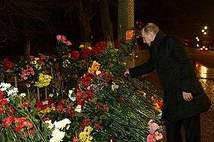 December 2013 Volgograd bombings - Putin in Volgograd, 1 January 2014