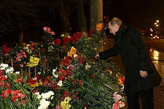 December 2013 Volgograd bombings - Putin in Volgograd, 1 January 2014