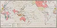 Карта к статье «Колонии» № 1. Военная энциклопедия Сытина (Санкт-Петербург, 1911-1915).jpg
