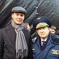 Михаил Дегтярев с космонавтом Алексеем Леоновым 2014.jpg