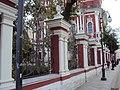 Ограда с воротами Храма сщмч. Климента, папы Римского 03.JPG