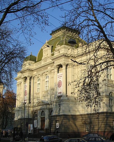 The main building of Lviv National Museum Promyshlennyi muzei.jpg