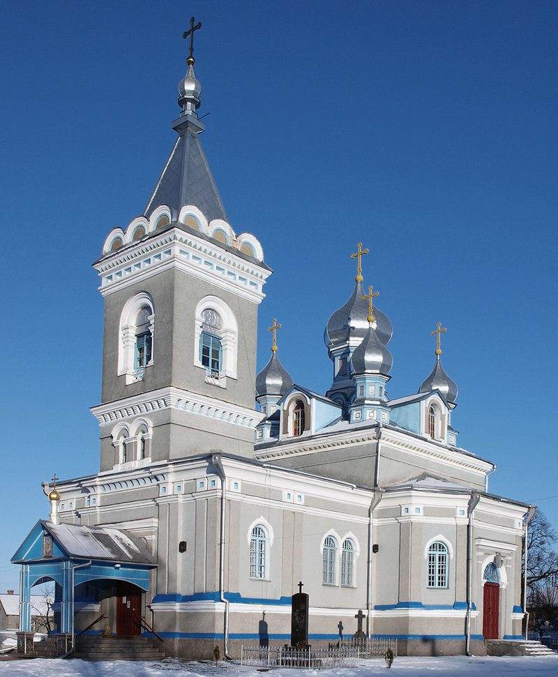 Церковь святого Александра Невского, построенная в 1874 году