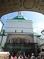 Роспись под аркой Красной башни Троице-Сергиева Лавра 2.JPG