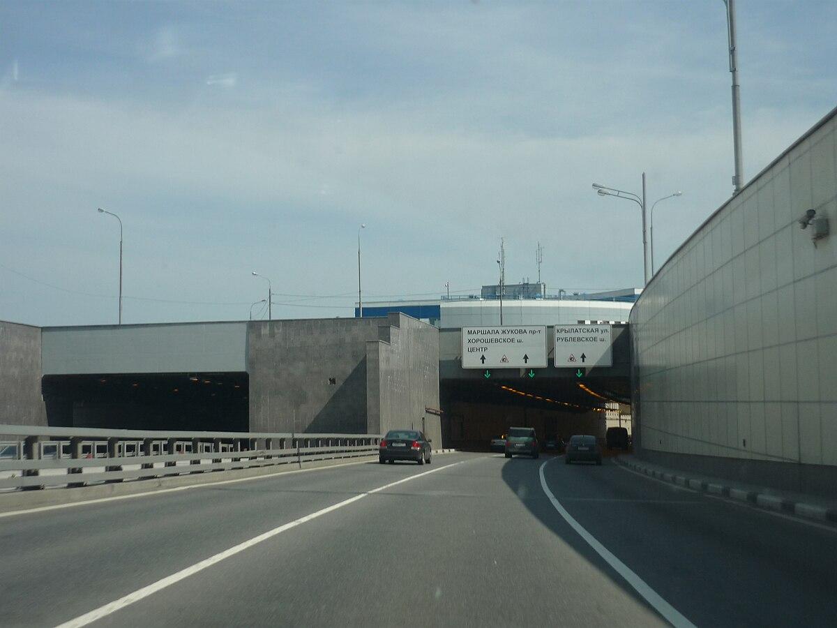 Как объехать лефортовский тоннель на грузовике схема