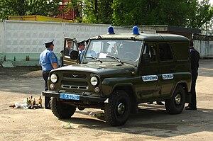 UAZ-469 - Ukrainian police UAZ-3151 UMM