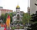 Храм Казанской иконы Божией Матери на Калужской площади (Москва).JPG