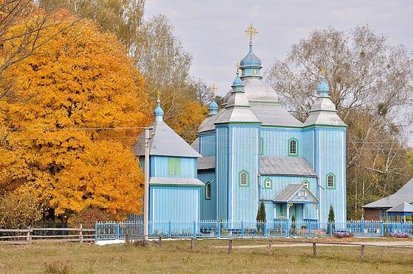 Церква Різдва Богородиці в Друхові (Рівненська область), © Сергій Лучковський, CC-BY-SA 4.0