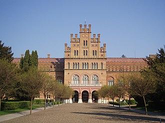 University of Chernivtsi - Residence of Bukovinian and Dalmatian Metropolitans