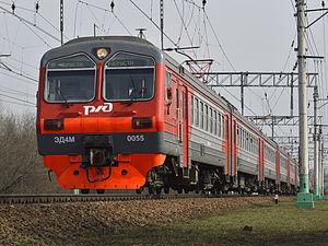 Transmashholding - Image: ЭД4М 0055