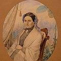 Ясевіч, Казімір (1812-1888) Партрэт невядомай 1854.jpg