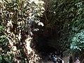 আলুটিলা গুহা থেকে বের হওয়ার পথ.JPG