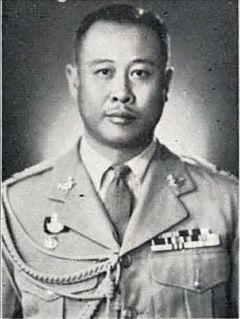 Praphas Charusathien Thai military officer and politician