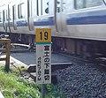 富士の下踏切と常磐線電車 - panoramio.jpg