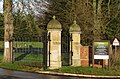 -2020-12-28 Entrance gates to the New Cromer Town cemetery, Holt Road, Cromer, Norfolk, England (2).JPG