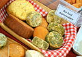 00900 Beskider Käse aus Ziegenmilch 2013; Goat's-milk cheeses from Poland; Northern Subcarpathians.JPG