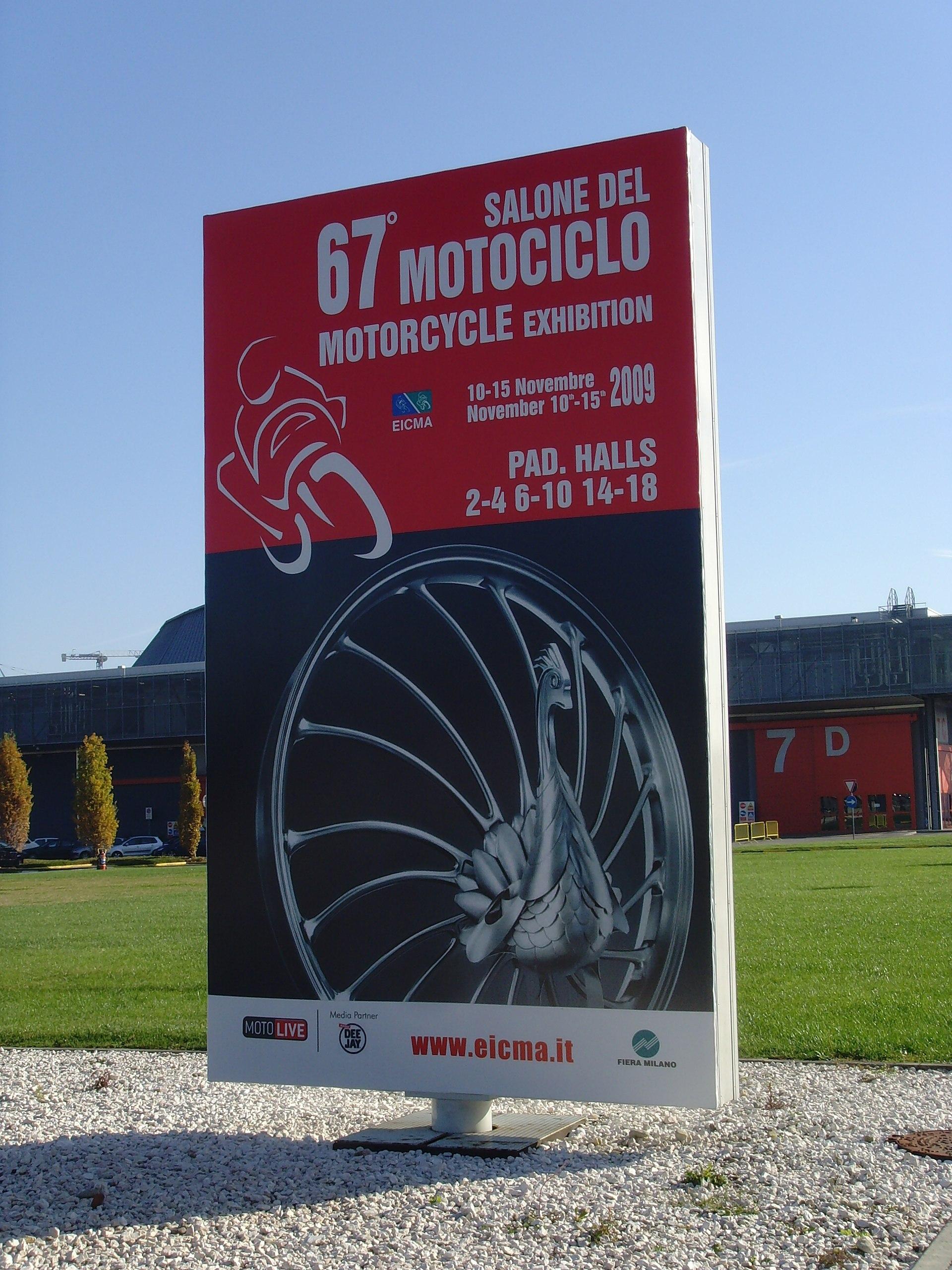 Milan Motorcycle Show  Honda