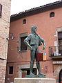 040 El Timbaler del Bruc, a la plaça Gran (Santpedor).JPG