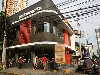 McDonald's Philippines - A McDonald's outlet in Malate, Manila.
