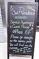 1-3rd Residence Tokyo Serviced Apartments, Akihabara - sign board (2015-06-14 05.26.29 by Franklin Heijnen).jpg