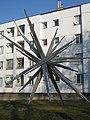 1120 Zanaschkagasse 26 - Stahlplastik Sonne von Josef Schagerl 1971 IMG 7175.jpg