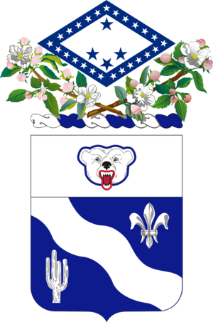 1st Battalion, 153rd Infantry Regiment (United States) - Regiment coat of arms