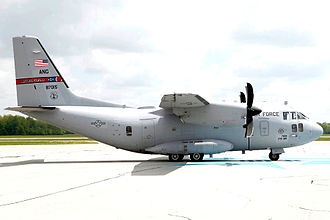 Alenia C-27J Spartan - A USAF C-27J of the 164th Airlift Squadron in 2010