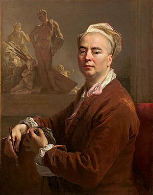 Nicolas de Largillière - Self-portrait of Nicolas de Largillierre.