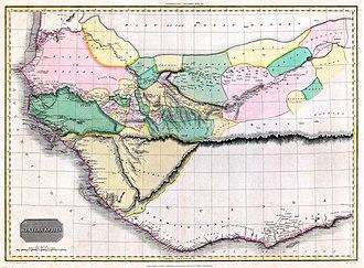 Mountains of Kong - Image: 1813 pinkerton
