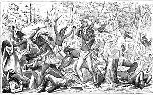 Indian Creek massacre - Image: 1832 Indian Creek Massacre