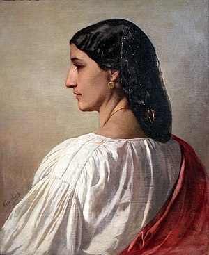 Anselm Feuerbach - Nanna, 1861, Germanisches Nationalmuseum