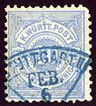 1875issue Württemberg 20Pfg Fächer Stuttgart.jpg